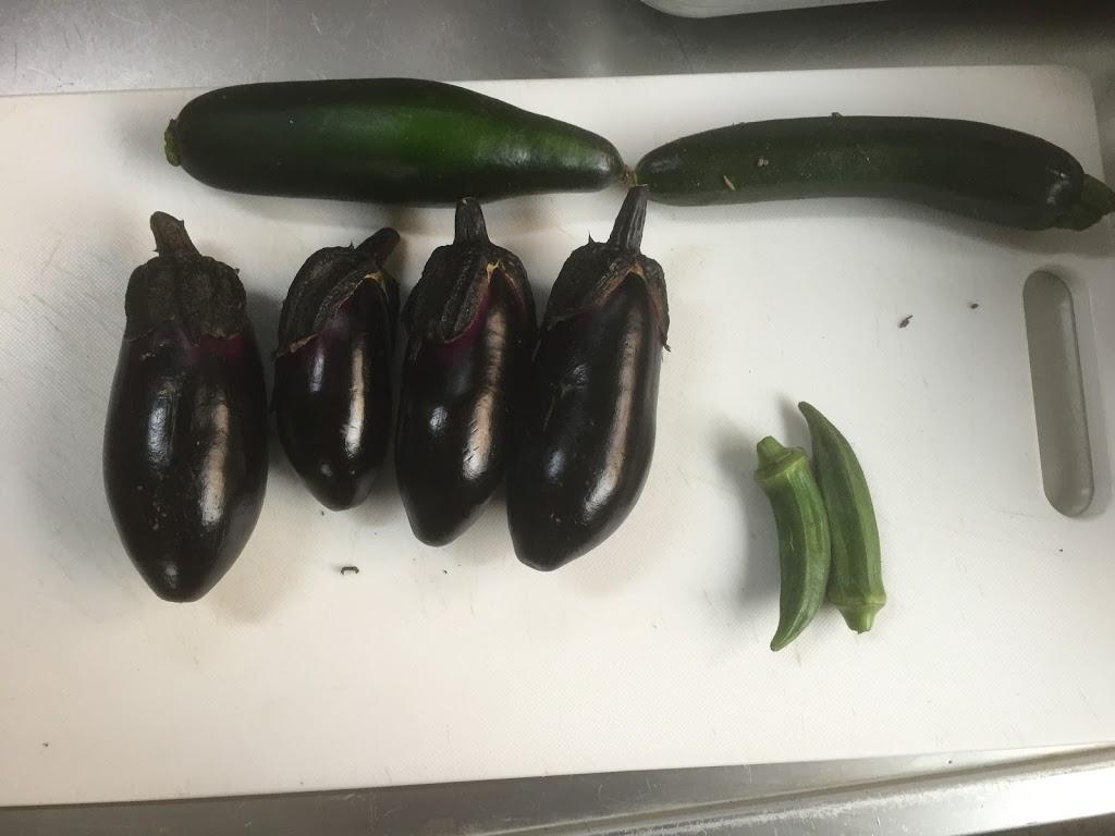 野菜の収穫期が来たので料理男子を自慢しよう。