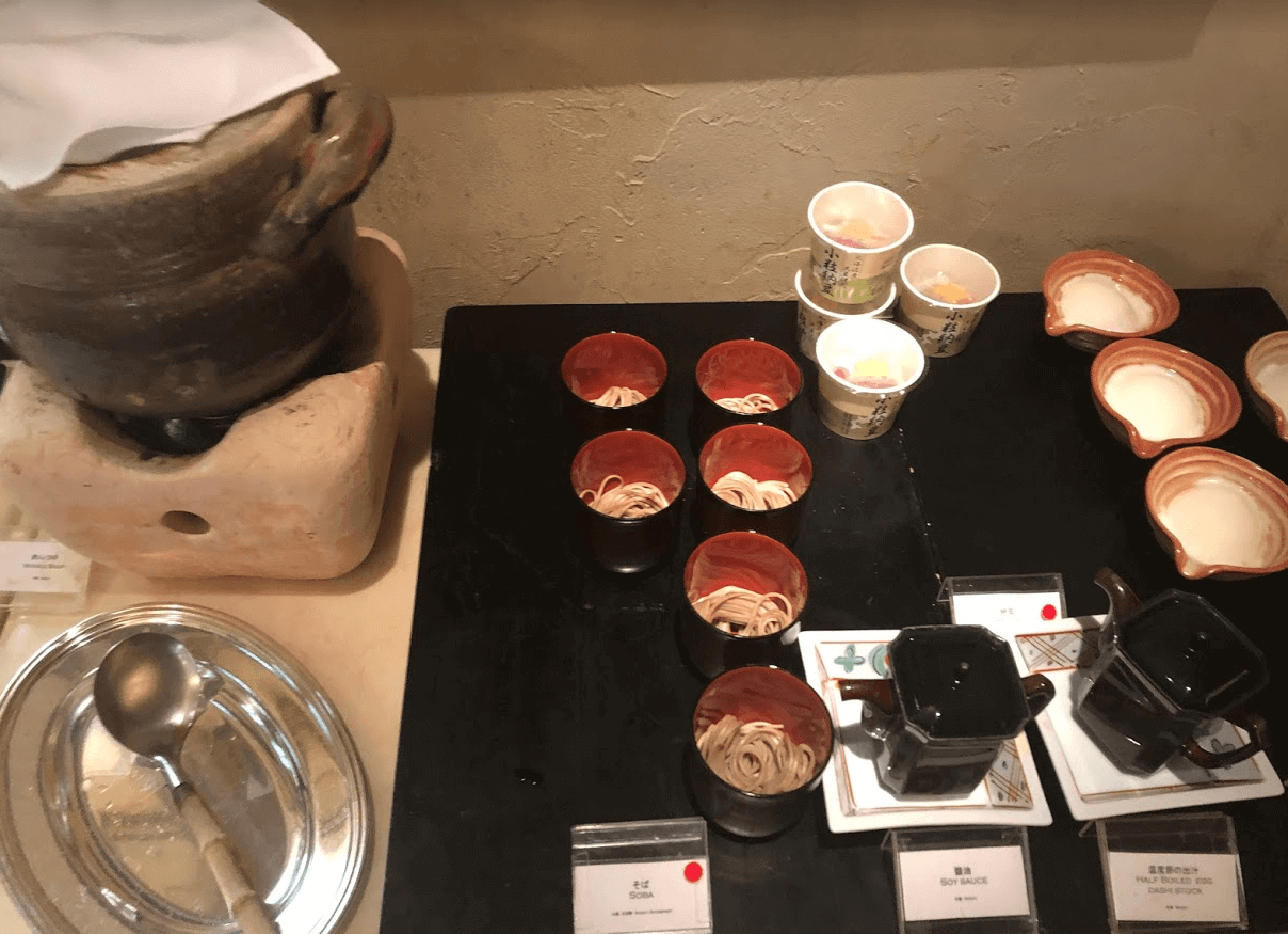 リッツカールトン大阪の朝食ビュッフェ4