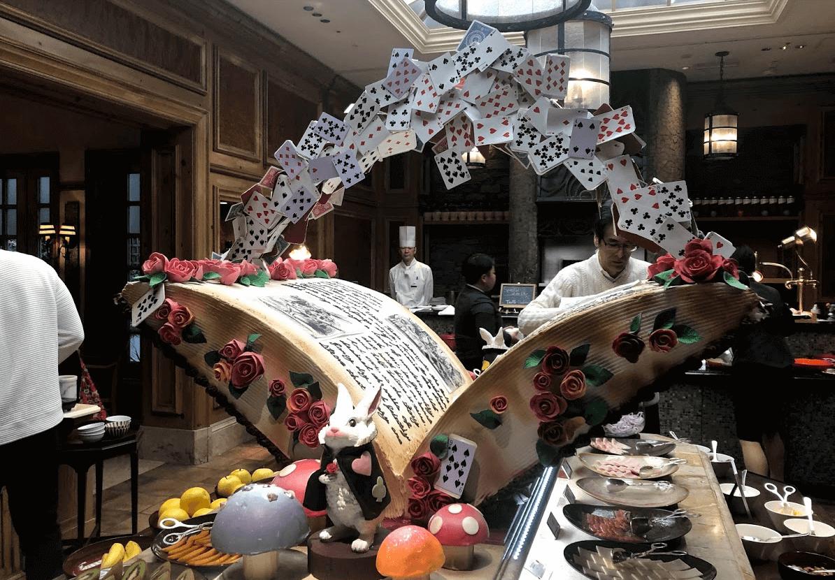 リッツカールトン大阪の朝食ビュッフェ3