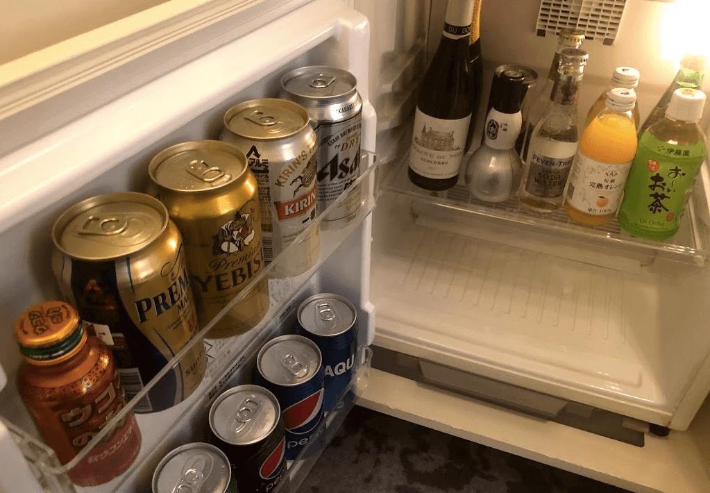 リッツカールトン大坂 冷蔵庫