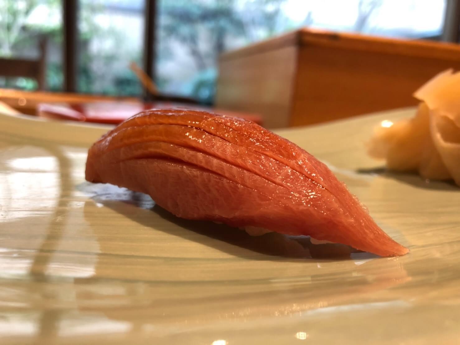 リッツカールトン大阪の寿司