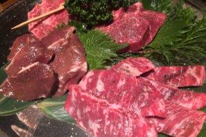 黒毛和牛焼肉 Serge源's錦店 肉