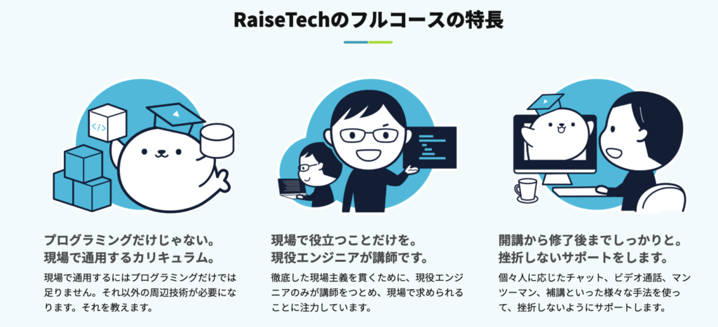 RaiseTech フルコース