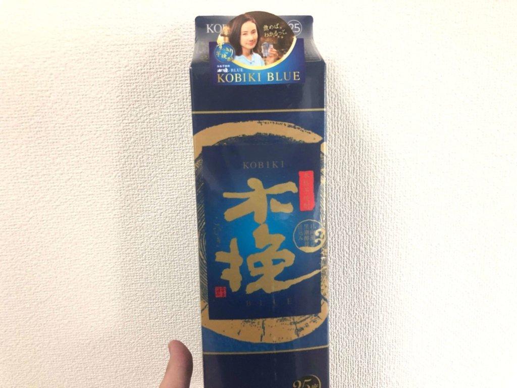 木挽ブルー 甘い芋焼酎