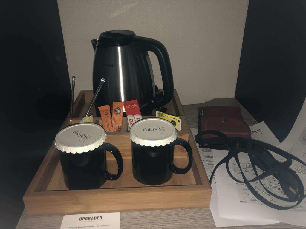 フェアフィールドバイマリオット コーヒー