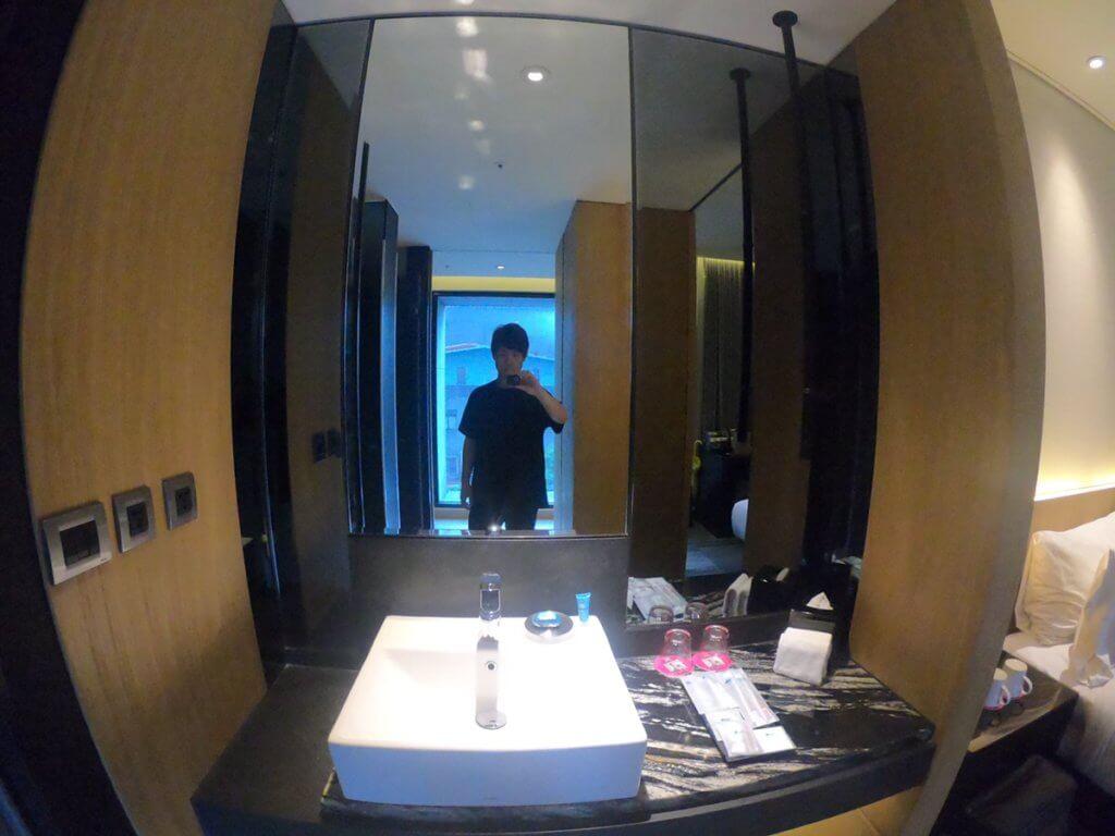 アロフト台北中山 鏡