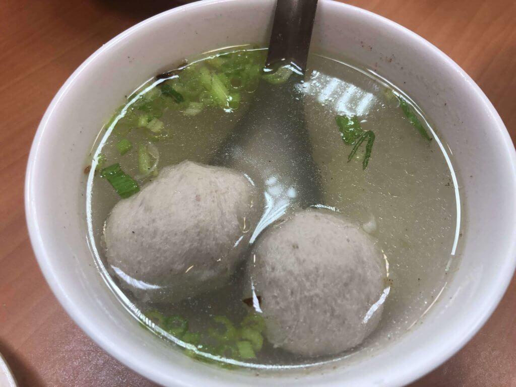 貢丸湯 黄記魯肉飯