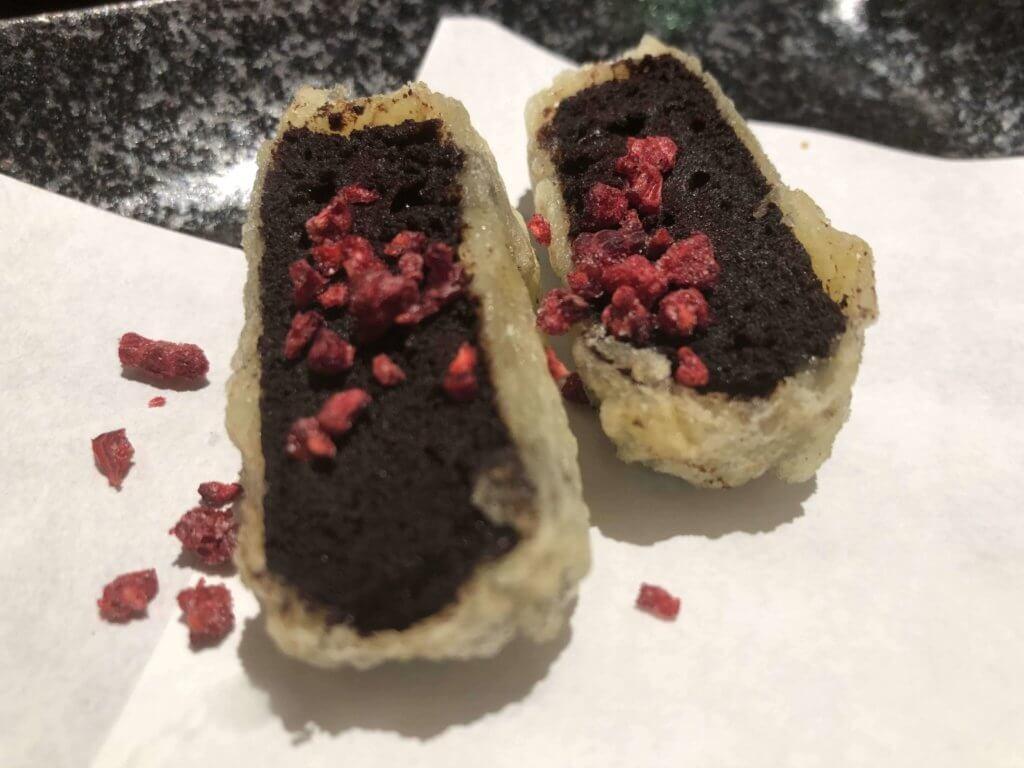 天ぷらとワイン小島 3号店  チョコ